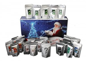 Kaffee Adventskalender - Kaffee aus aller Welt - 24 Geschenke gemahlener Kaffee