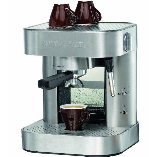Rommelsbacher EKS 1500 Espressomaschine (1275 Watt, 19 bar) Edelstahl